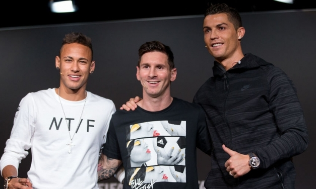2016/17 Football Rich List Dominated by La Liga Stars, But Is Messi, Ronaldo or Neymar #1?